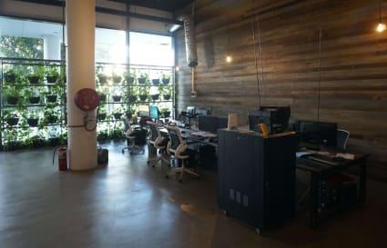 Desk Space in Creative Office