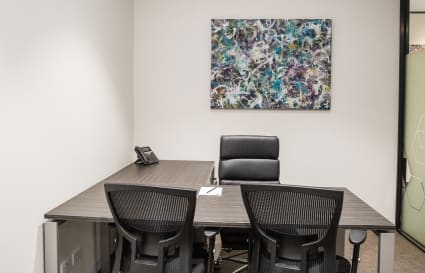 2 Person Private Meeting Room