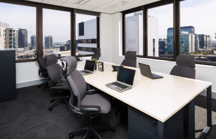 External 7 Person Private Office