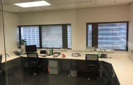 Shared office space in the CBD