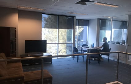 Open co-working or meeting space in Dingley Village
