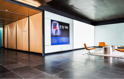 External private office for up to 35