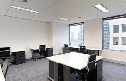 External private office space for 5