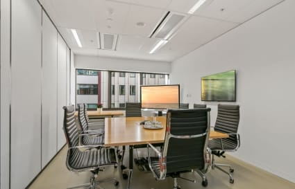Internal office in Sydney CBD