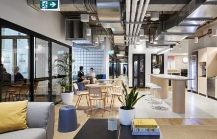 Private office space for up to 9