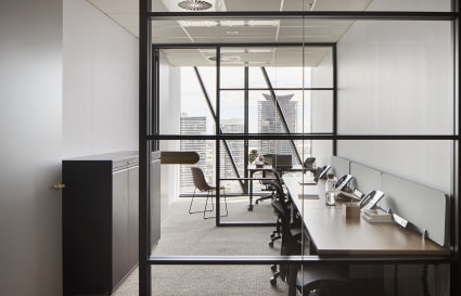8 Person private office with City views | Collins Square Tower 5