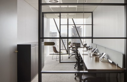 5 Pax external private office with City views| Collins Square Tower 5