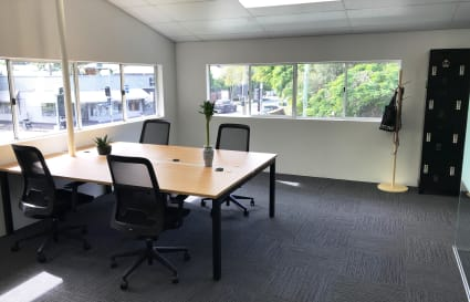 Coworking desks in New Farm