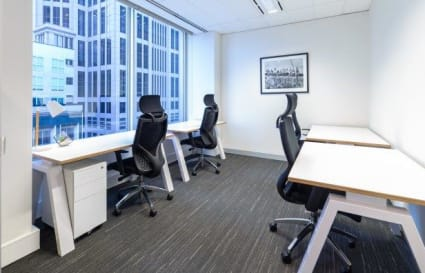 4 Person windowed office on Collins St