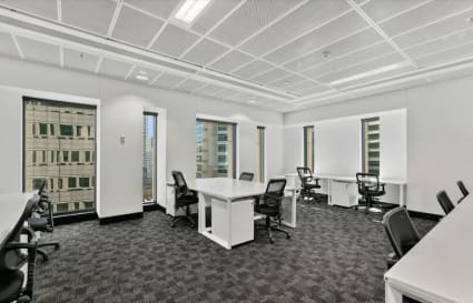 12 Person private office with windows and natural light