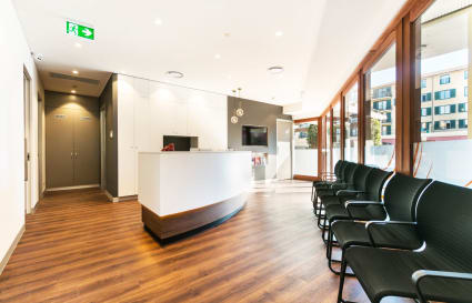 Brand new medical consulting rooms in inner west landmark building