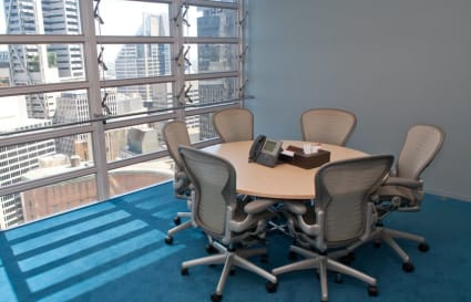 Private office with West City views