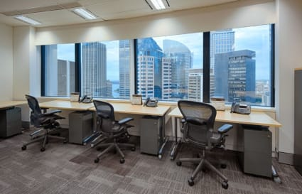 3 Person external private office