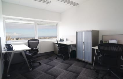2 person private office with Harbour Bridge views