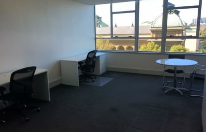 Share 50% of my 26 sqm office with me ($1,000+GST per month for the 3 desks)