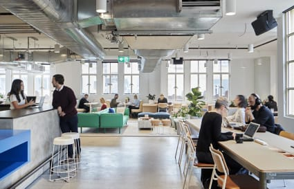 54 Person private office space