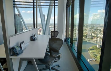 4 Person private office with Story Bridge view