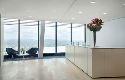 3 Person private office with Southbank view