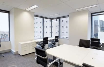 6 Person external office