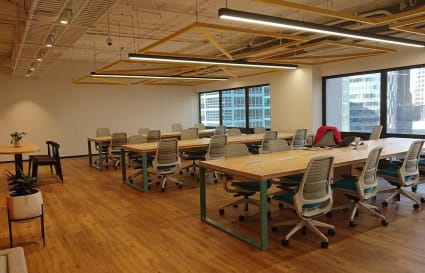 External private office space for up to 34