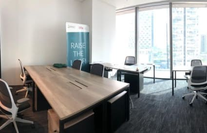 External private office space for up to 46