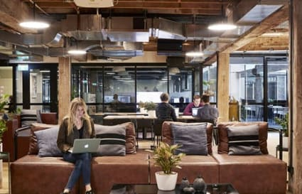2 Desks Available in 12-person Private Office