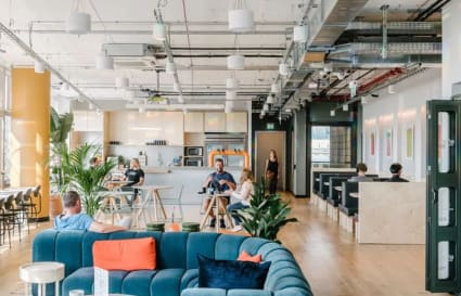 Private office space for up to 15
