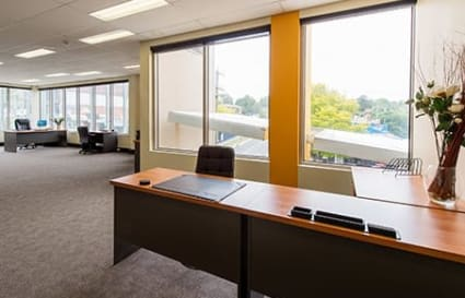 External private office space for 2