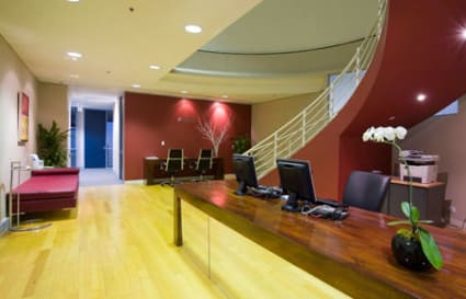 External private office space for up to 3