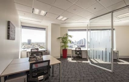 External private office space for 3