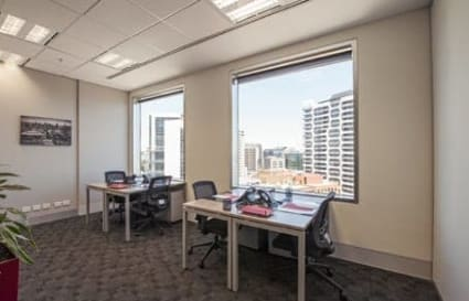 External private office space for 4