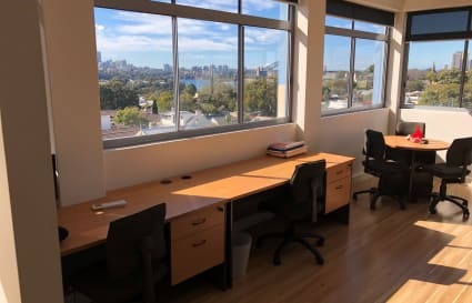 Private office with stunning harbour views for up to 4 people in Balmain, NSW for $3000/month + GST