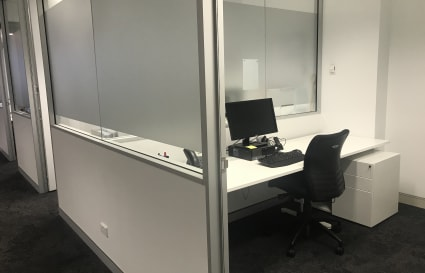 4 x Private offices to fit 1 or 2 people in Sydney for $1,500 office / month / + gst