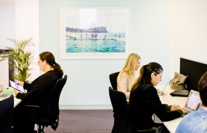 Coworking - Full time desks for teams of 8