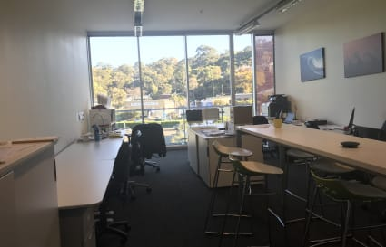 Desk in private suite at Lifestyle Working Brookvale