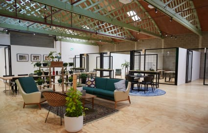 10sqm private office with shared facilities in iconic Brunswick building