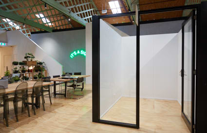 5.3sqm private office with shared facilities in iconic Brunswick building