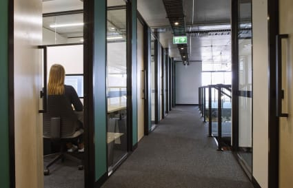 Modern Private Offices in Cremorne with Large windows