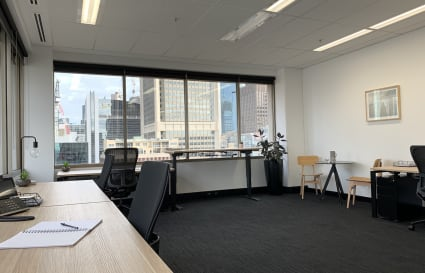 Elegant and generously sized corner office in Melbourne CBD