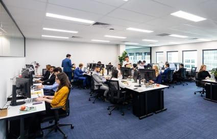 35 Person External Office
