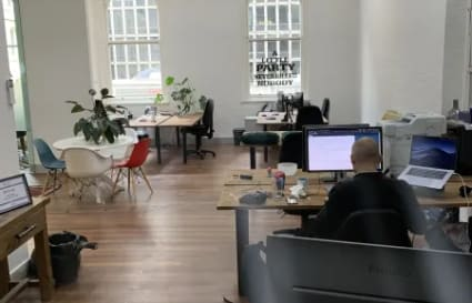 Co-working Desks in trendy boutique Melbourne CBD space