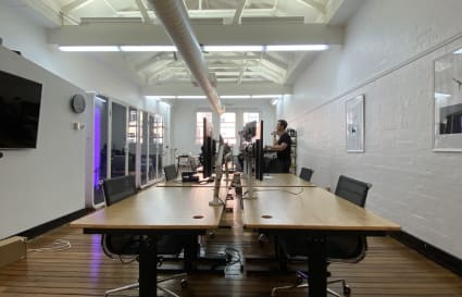 Shared creative space in Sydney CBD