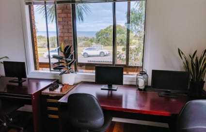 Exclusive Private Office with oceanview