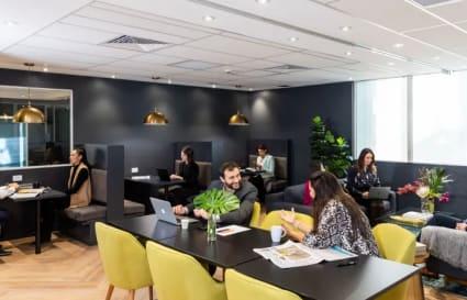 7 Person external/internal office space on CoWork floor