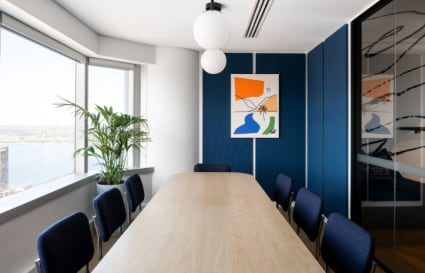 105 Person private office with two internal meeting rooms and additional breakout space