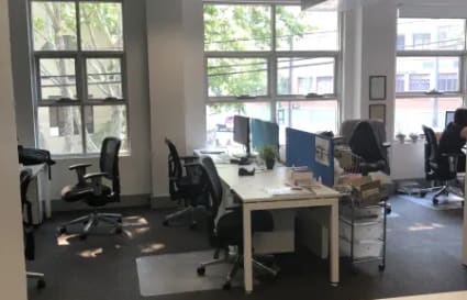 Share office with established legaltech business