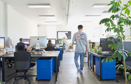 Co-working desk in Fitzroy