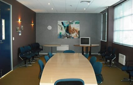 The Victoria Room - Mid Sized Meeting Room configured as Board Room
