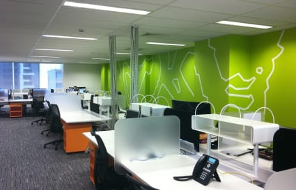 Private and secure 400sqm office for larger teams + 4 parking spaces