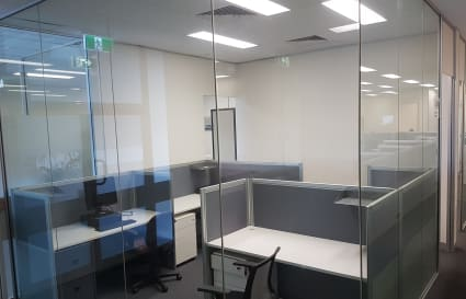 Co-working dedicated desk
